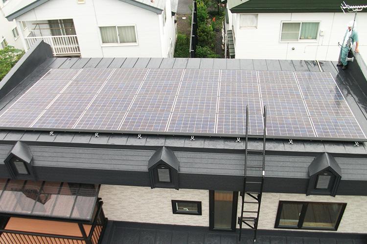 太陽光発電 施工例